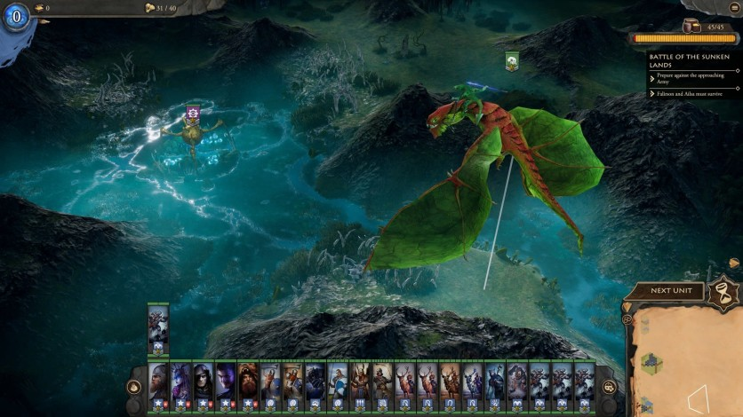 Screenshot 3 - Fantasy General II: Invasion