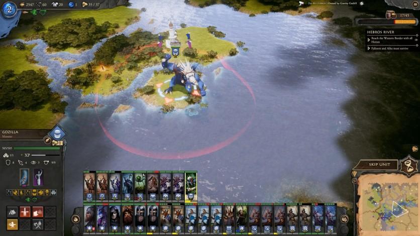 Screenshot 4 - Fantasy General II: Invasion