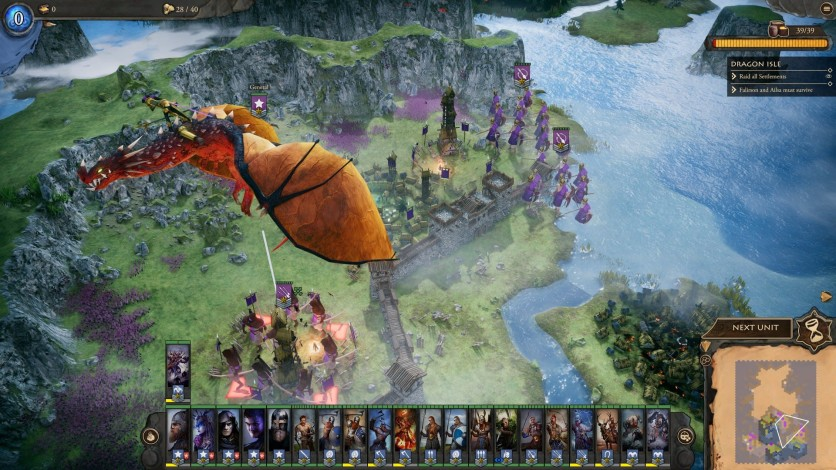 Screenshot 5 - Fantasy General II: Invasion