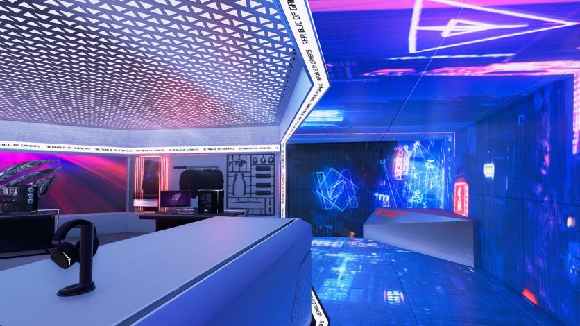 Screenshot 2 - PC Building Simulator - Republic of Gamers Workshop