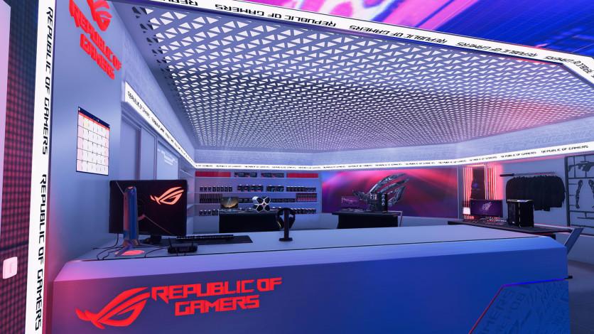 Screenshot 4 - PC Building Simulator - Republic of Gamers Workshop