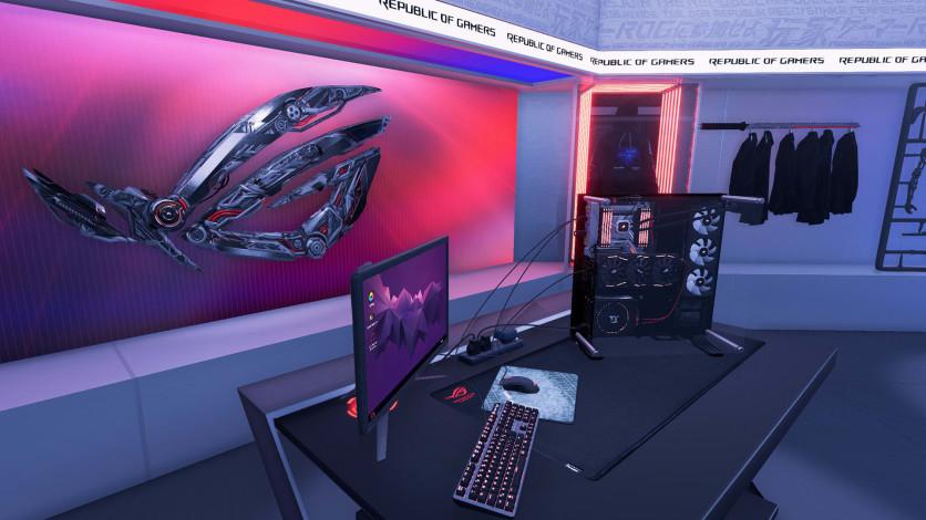 Screenshot 3 - PC Building Simulator - Republic of Gamers Workshop