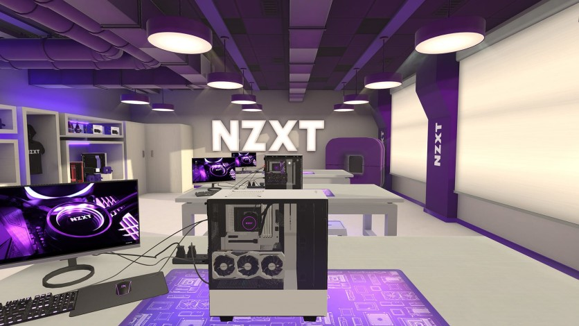 Screenshot 2 - PC Building Simulator - NZXT Workshop