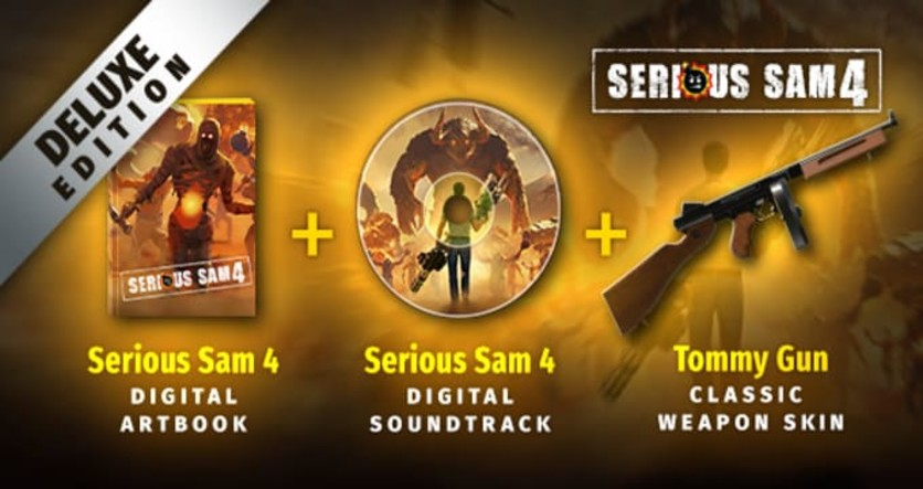 Screenshot 3 - Serious Sam 4 Deluxe Edition