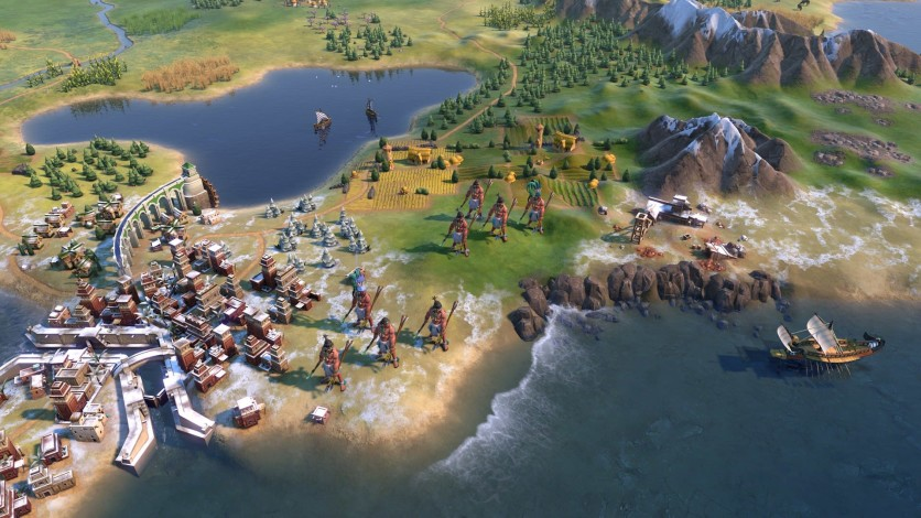 Screenshot 4 - Sid Meier's Civilization VI - Maya & Gran Colombia Pack