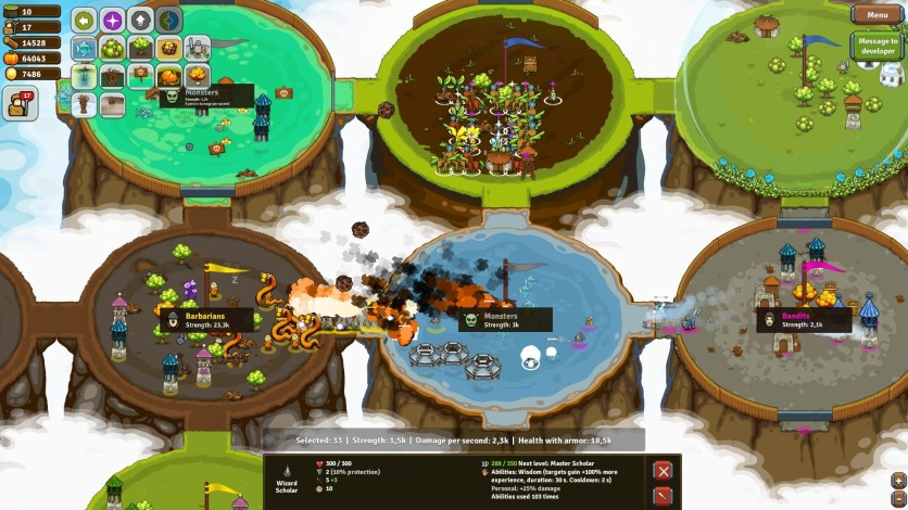 Screenshot 8 - Circle Empires Rivals: Forces of Nature