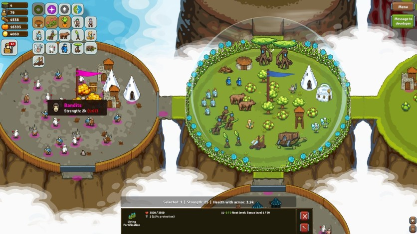 Screenshot 5 - Circle Empires Rivals: Forces of Nature