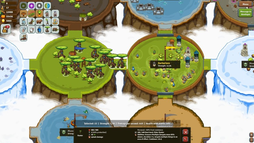 Screenshot 7 - Circle Empires Rivals: Forces of Nature