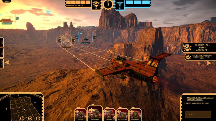 Screenshot 2 - Aeronautica Imperialis: Flight Command