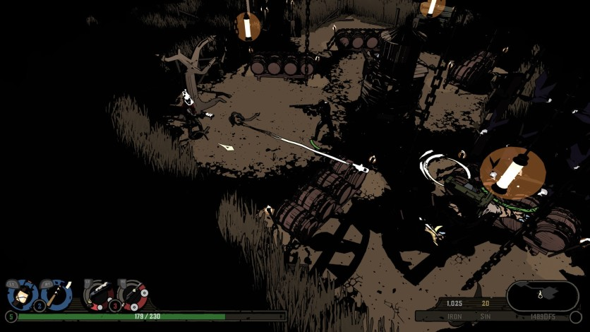 Screenshot 4 - West of Dead - Path of the Crow Edition