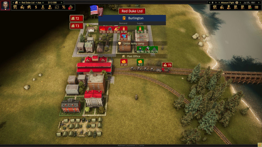 Screenshot 4 - Railroad Corporation - Civil War