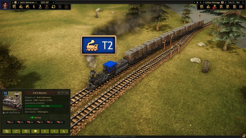 Screenshot 3 - Railroad Corporation - Civil War