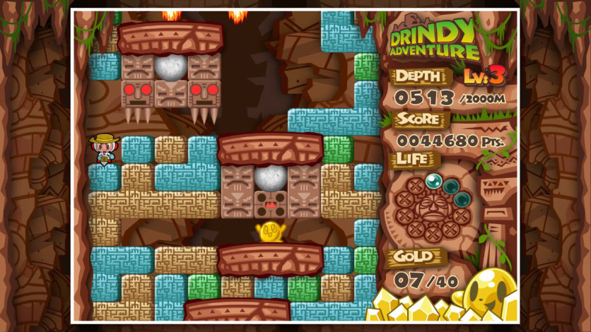 Screenshot 4 - Mr. DRILLER DrillLand