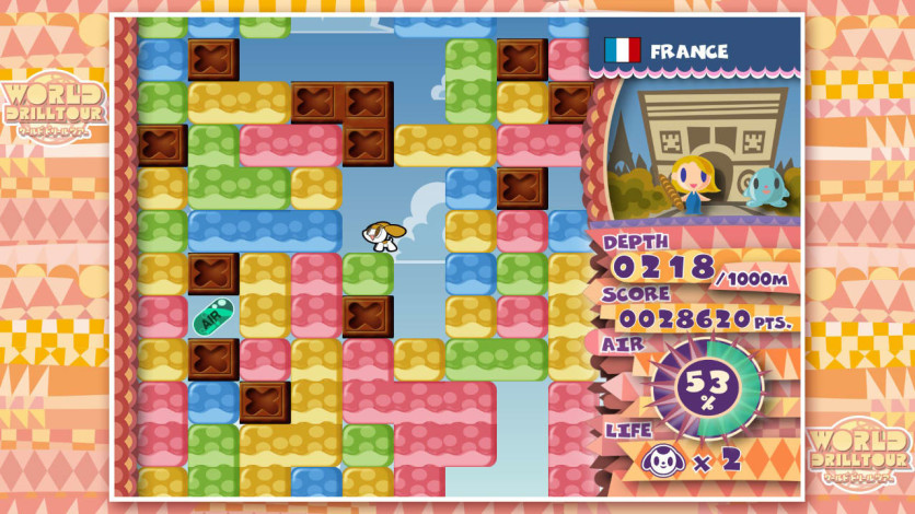 Screenshot 2 - Mr. DRILLER DrillLand