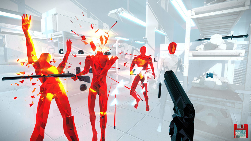 Screenshot 2 - SUPERHOT: MIND CONTROL DELETE