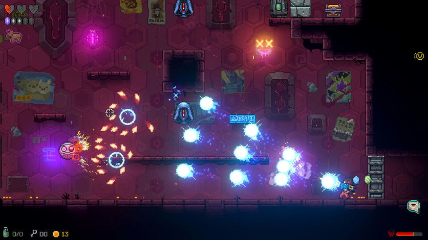 Screenshot 2 - Neon Abyss
