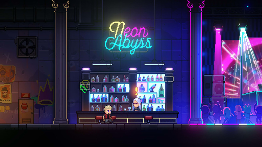 Screenshot 4 - Neon Abyss