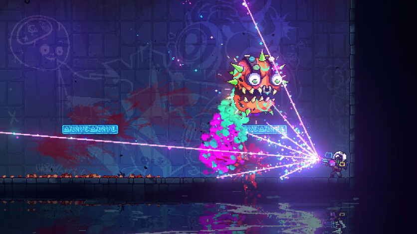 Screenshot 4 - Neon Abyss - Loveable Rogues