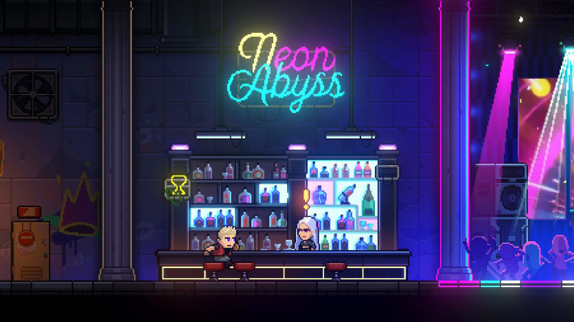 Screenshot 2 - Neon Abyss - Loveable Rogues