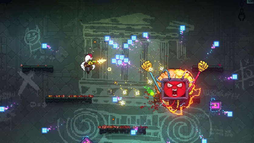 Screenshot 3 - Neon Abyss - Loveable Rogues