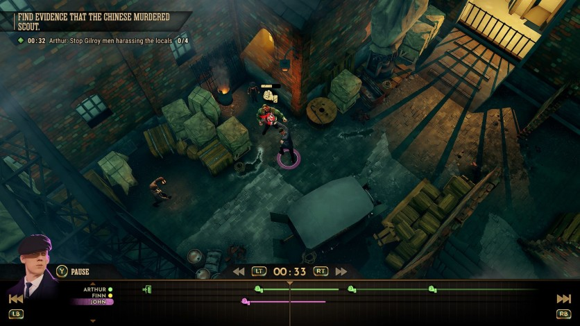 Screenshot 2 - Peaky Blinders: Mastermind