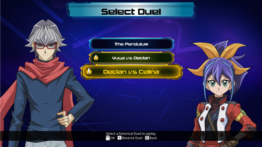 Screenshot 3 - Yu-Gi-Oh! ARC-V: Declan vs Celina