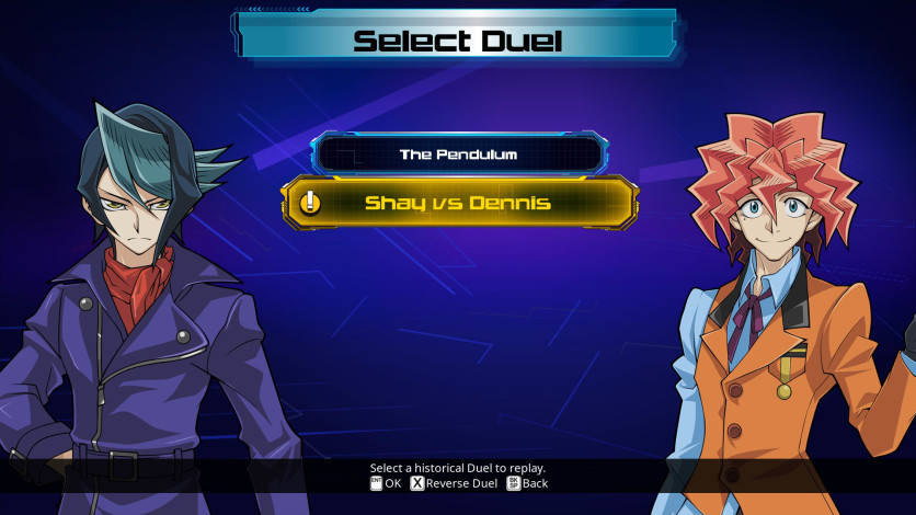 Screenshot 2 - Yu-Gi-Oh! ARC-V: Shay vs Dennis