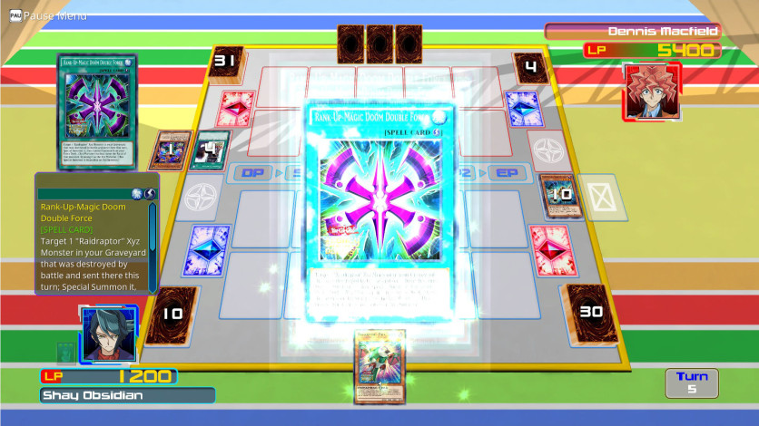 Screenshot 4 - Yu-Gi-Oh! ARC-V: Shay vs Dennis