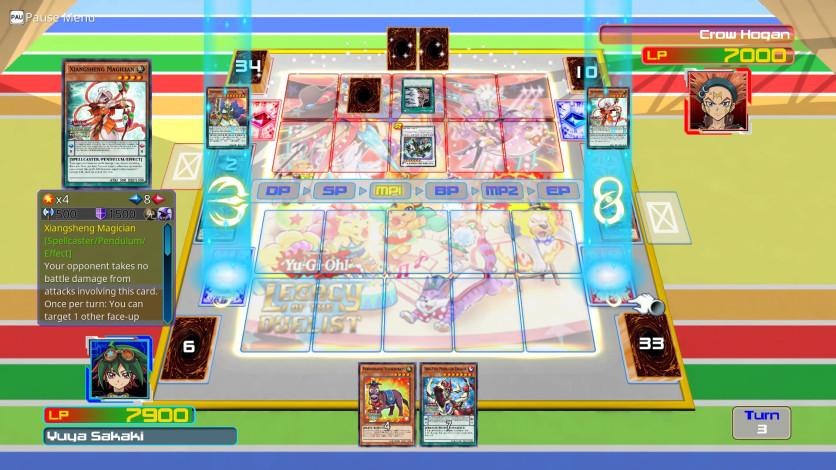 Screenshot 2 - Yu-Gi-Oh! ARC-V: Yuya vs Crow