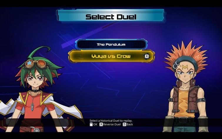 Screenshot 1 - Yu-Gi-Oh! ARC-V: Yuya vs Crow