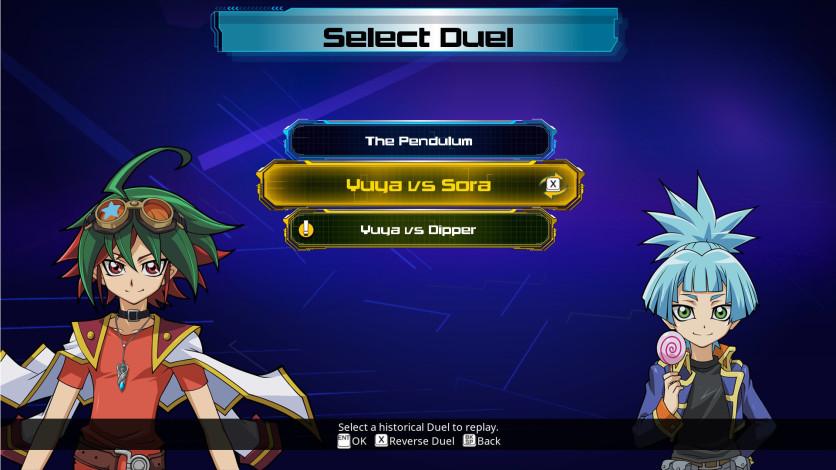 Screenshot 4 - Yu-Gi-Oh! ARC-V Sora and Dipper