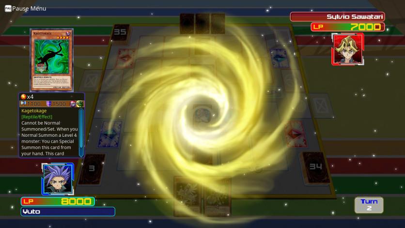 Screenshot 3 - Yu-Gi-Oh! ARC-V Yuto v. Sylvio