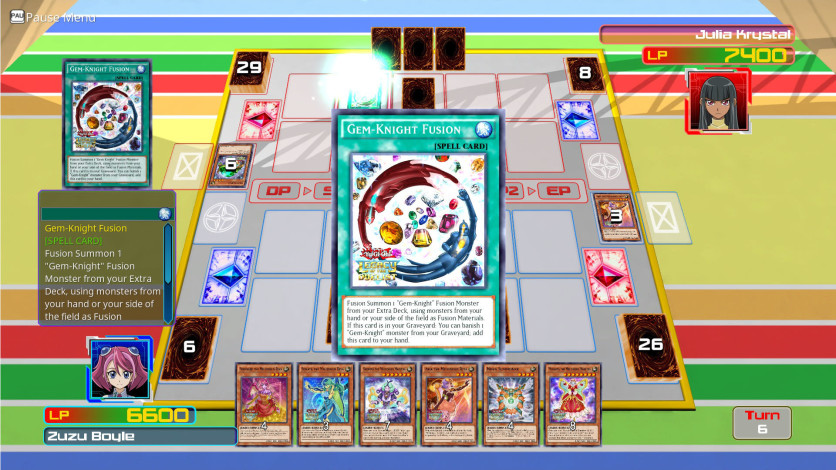 Screenshot 1 - Yu-Gi-Oh! ARC-V Zuzu v. Julia