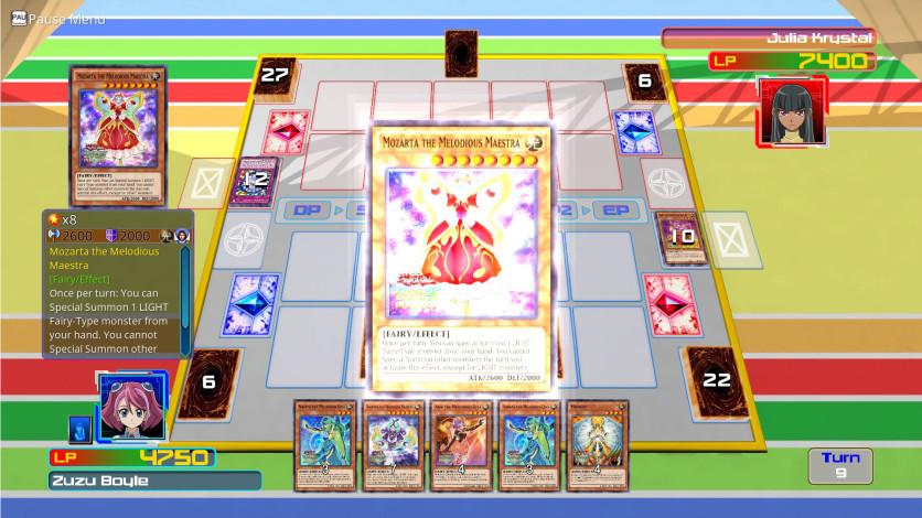 Screenshot 3 - Yu-Gi-Oh! ARC-V Zuzu v. Julia