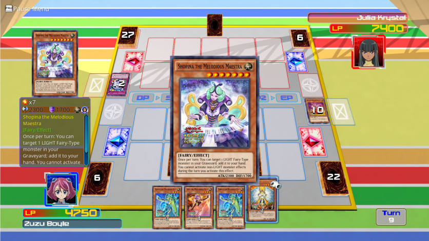 Screenshot 2 - Yu-Gi-Oh! ARC-V Zuzu v. Julia