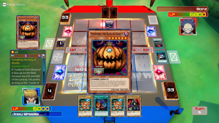Screenshot 1 - Yu-Gi-Oh! Duelist Kingdom