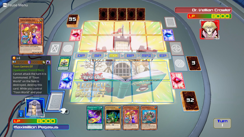 Screenshot 4 - Yu-Gi-Oh! GX: Leaders