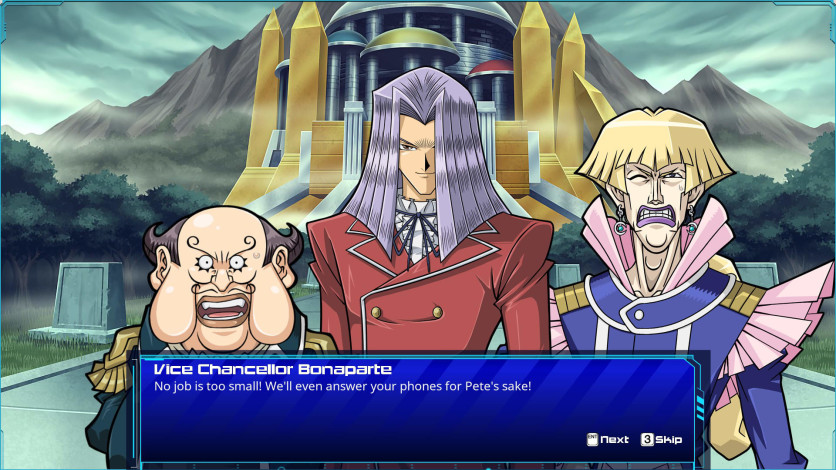 Screenshot 2 - Yu-Gi-Oh! GX: Leaders