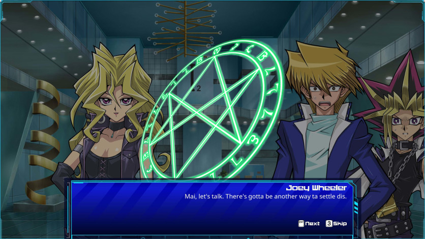 Screenshot 1 - Yu-Gi-Oh! Waking the Dragons: Joey's Journey
