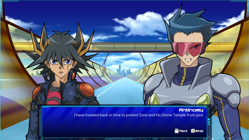 Screenshot 1 - Yu-Gi-Oh! 5D's For the Future
