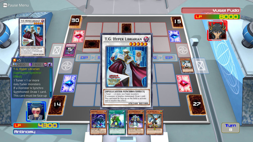 Screenshot 3 - Yu-Gi-Oh! 5D's For the Future