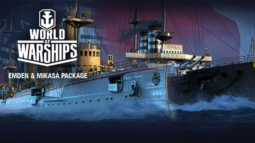 Screenshot 2 - World of Warships - Invite Codes - Emden & Mikasa Package