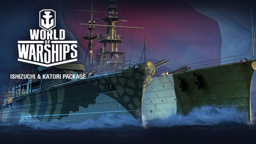 Screenshot 2 - World of Warships - Invite Codes - Ishizuchi & Katori Package