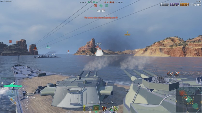 Screenshot 4 - World of Warships - Invite Codes - Ishizuchi & Katori Package