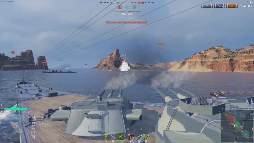 Screenshot 4 - World of Warships - Invite Codes - Charleston Package