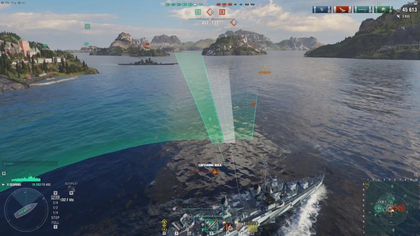 Screenshot 5 - World of Warships - Invite Codes - Charleston Package