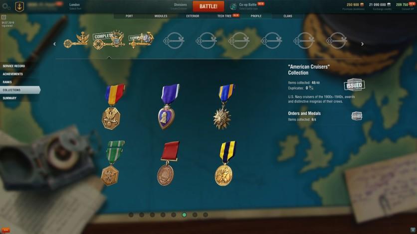 Screenshot 3 - World of Warships - Invite Codes - Charleston Package