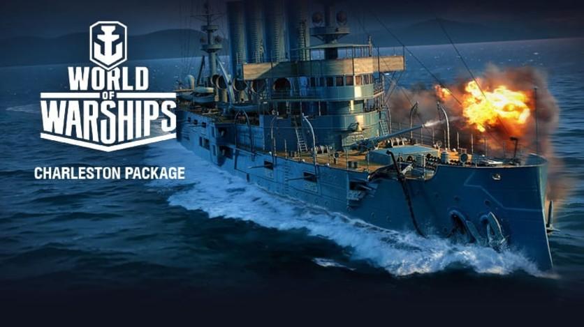 Screenshot 2 - World of Warships - Invite Codes - Charleston Package