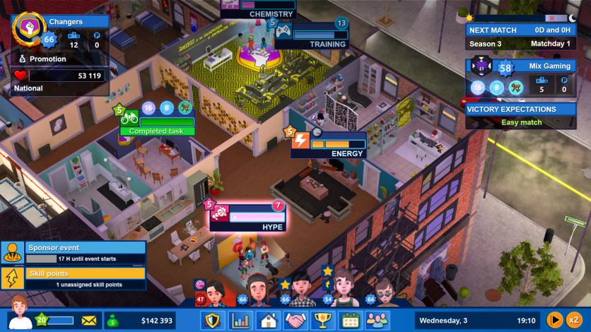 Screenshot 3 - Esports Life Tycoon