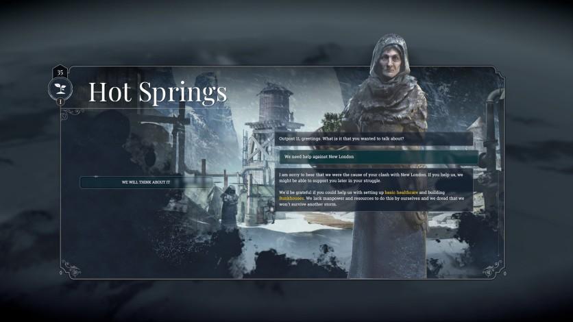 Screenshot 2 - Frostpunk: On The Edge
